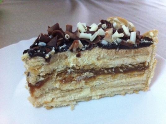 torta alemã fatia